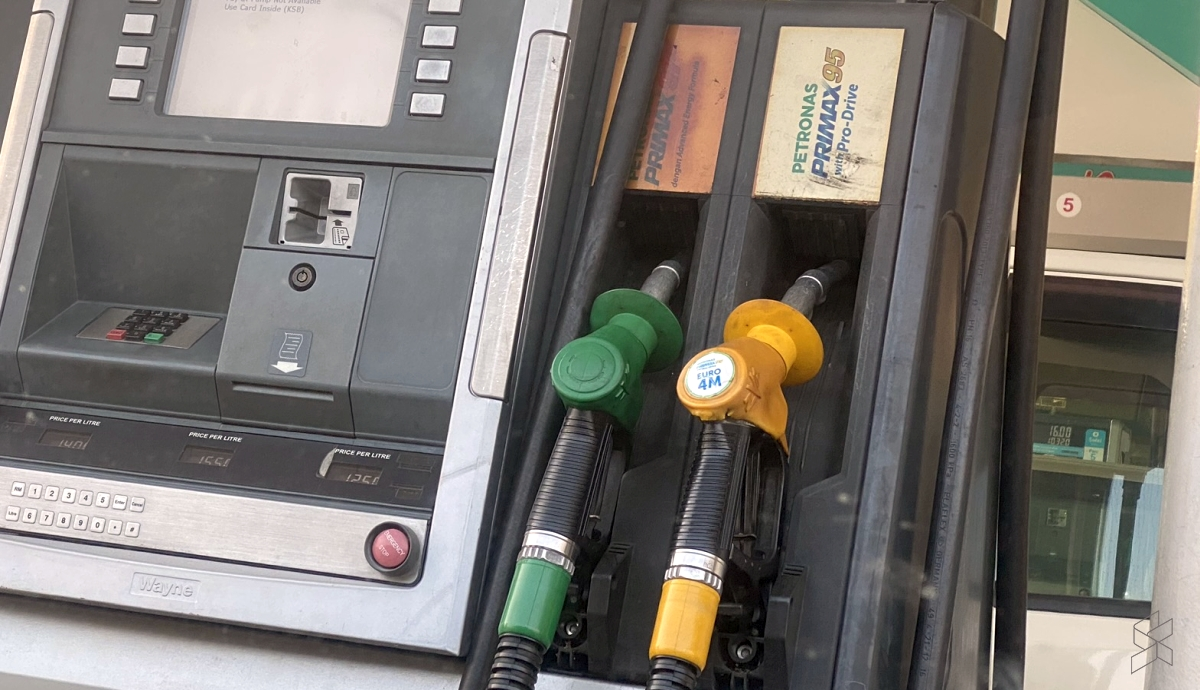 Latest fuel price: RON95 and RON97 petrol up 10 sen, diesel up 9 sen
