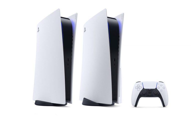 PlayStation 5 现身!两种机型黑白配
