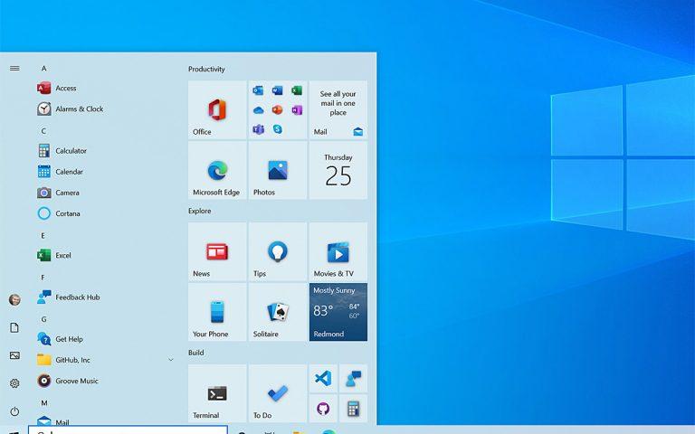 任务栏Start Menu统统改 微软重新设计Windows 10外观